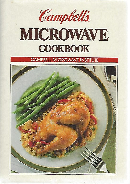 Campbell's Microwave Cookbook (Hardcover) 1988