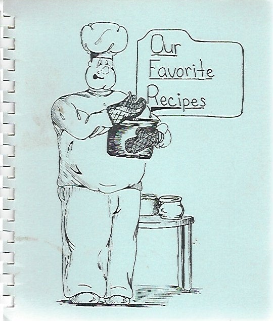 Our Favorite Recipes Cooked up by Dearborn Christian School   (Spiral)  1988