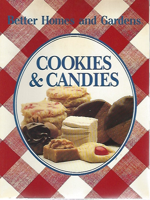 Better Homes and Gardens: Cookies & Candies   (Softcover)  1987