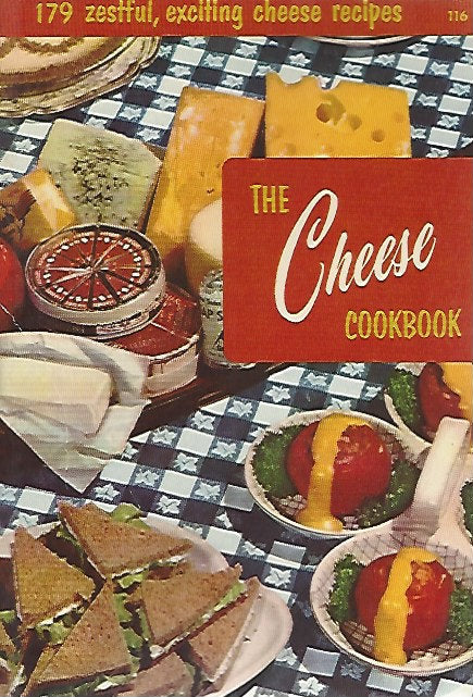 Culinary Arts Institiute: The Cheese Cookbook   (Softcover) 1956