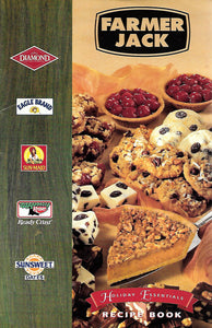 Vintage Farmer Jack (GROCERY STORE) Holiday Essentials Recipe Book  (Softcover Booklet) 1996