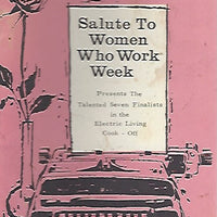 Salute to Women Who Work Week from Detroit Edison  (Softcover) 1962