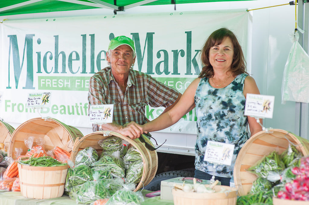 Michelle's Market Calgary - Farm Fresh Vegetables - Bill and Jan Alberts
