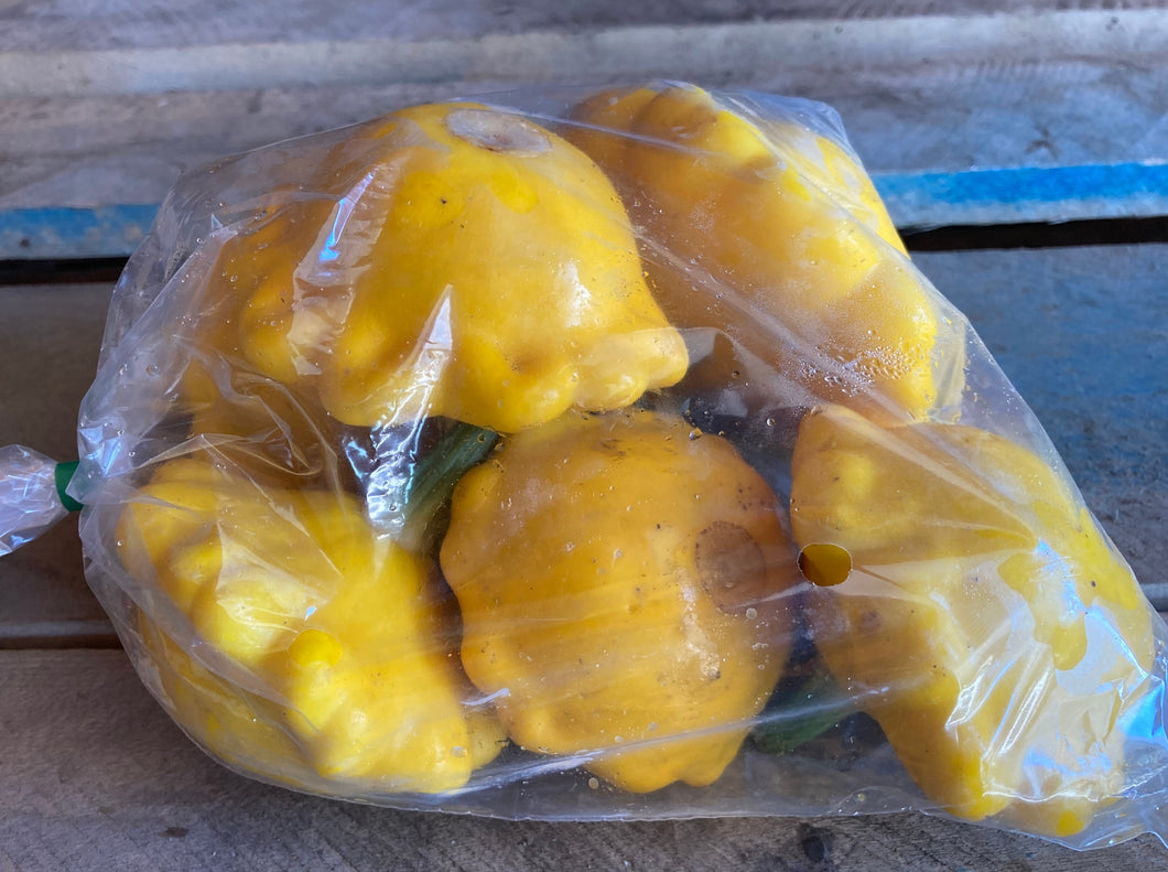 SOLD OUT! Patti-Pan Summer Squash (2 lb bag)