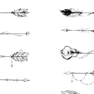 10 originals arrows tattoo design references