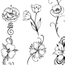 Load image into Gallery viewer, 100 Mini Tattoo Design Idea ebook high resolution download