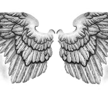 Load image into Gallery viewer, Sexy wing  tattoo design high resolution download