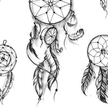 Load image into Gallery viewer, sexy dreamcatchers and feathers tattoo ideas references