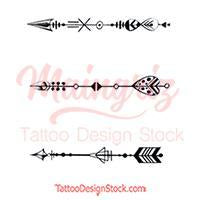 3 Arrow tattoo design high resolution download