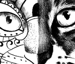 Cat mandala tattoo design high resolution download