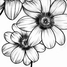 Load image into Gallery viewer, Flowers for arms tattoo design2