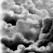 Load image into Gallery viewer, Clouds Tattoo Design #3