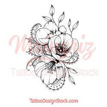 Load image into Gallery viewer, Poopy linework tattoo design high resolution download