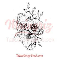 Poopy linework tattoo design high resolution download