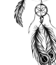 Load image into Gallery viewer, Realistic dreamcatcher  high resolution download