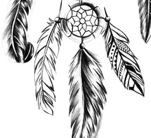 Load image into Gallery viewer, Sexy dreamcatcher half sleeve tattoo design high resolution download