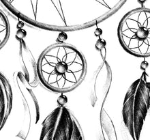 Load image into Gallery viewer, Sexy dreamcatcher  tattoo design high resolution download