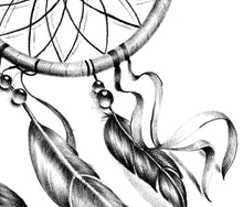 Load image into Gallery viewer, Sexy realistic dreamcatcher tattoo design high resolution download