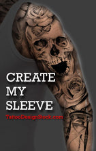 Load image into Gallery viewer, Best hundreds original sleeve tattoos created by tattoo artists available online