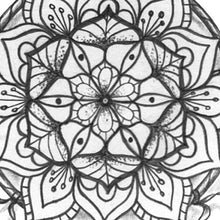 Load image into Gallery viewer, dreamcatcher mandala tattoo design