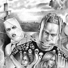Load image into Gallery viewer, Highest in the room by Travis Scott tattoo design high resolution download
