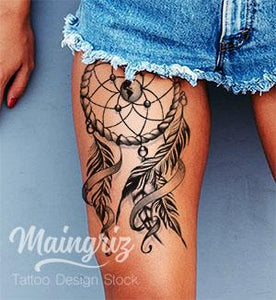 Dreamcatcher download tattoo design