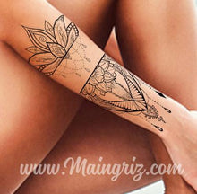 Load image into Gallery viewer, amazing sexy mandala download tattoo design
