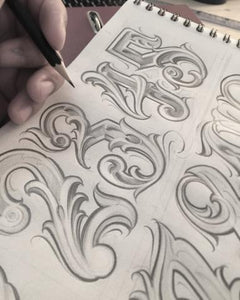 numbers for chicano sleeve tattoo design