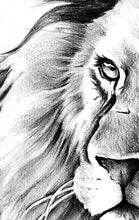 Load image into Gallery viewer, Realistic lion tattoo design high resolution download