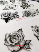 Load image into Gallery viewer, custom sleeve tattoo designs in high resolution download