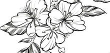Load image into Gallery viewer, sexy flowers sideboob tattoo design digital downlaod by tattoo artist