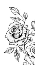 Load image into Gallery viewer, sexy roses sideboob tattoo design digital download by tattoo artist