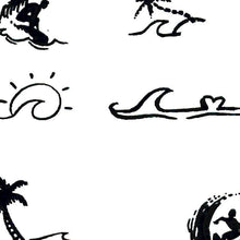Load image into Gallery viewer, 20 minimalist surf tattoo design high resolution download