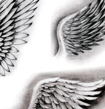 Load image into Gallery viewer, 5 wings tattoo design high resolution download