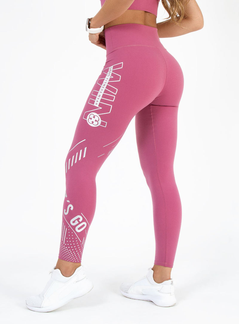 Legging Let's go - Pink Kiss LEGGINGS WIN