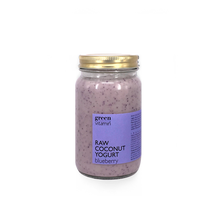 Load image into Gallery viewer, Raw Coconut Yogurt Blueberry (300g)