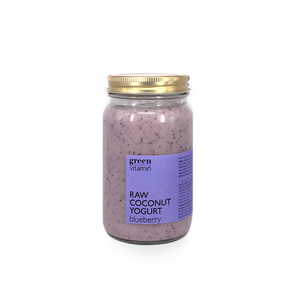 Raw Coconut Yogurt Blueberry (300g)