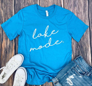 Short Sleeve T-shirt Lake Mode