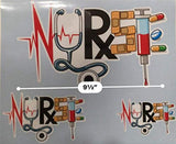 Nurse Sticker Set