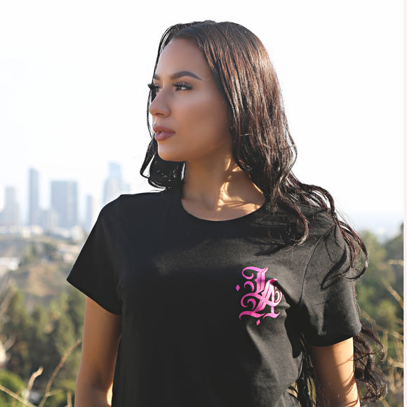 L.A. GIRL TEE BY E.A 2020