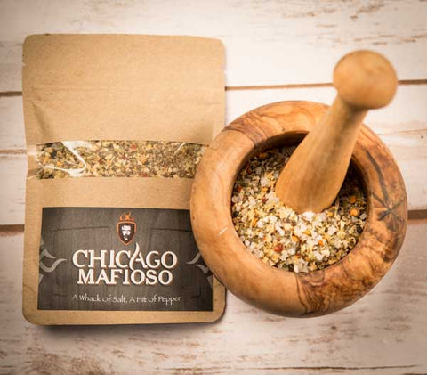 The Chicago Mafioso Steak Rub
