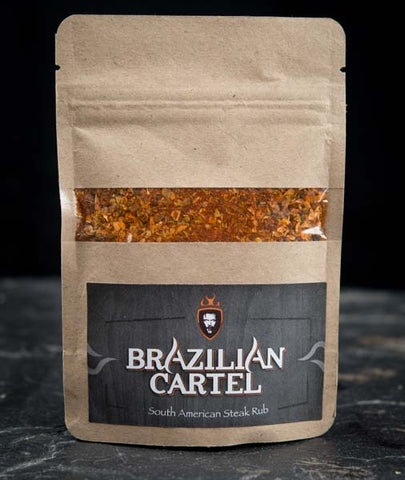 The Brazilian Cartel Steak Rub