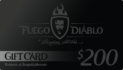 The Fuego Diablo Gift Card