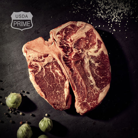 Black Label Porterhouse Steaks