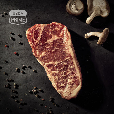 Black Label Strip Loin Steaks - Boneless