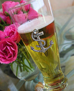 The Queens' Jewels Anchor Pilsner Glass