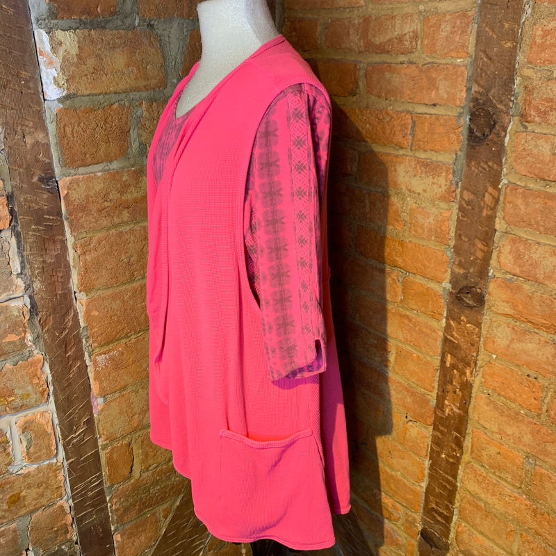 Prairie Cotton Pink Vest