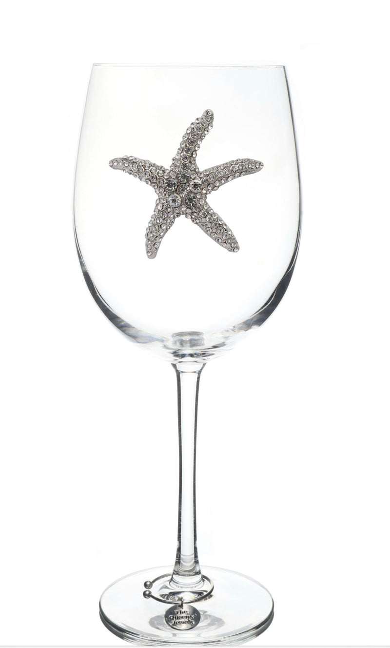 The Queens' Jewels Stemmed Starfish Wine Glass