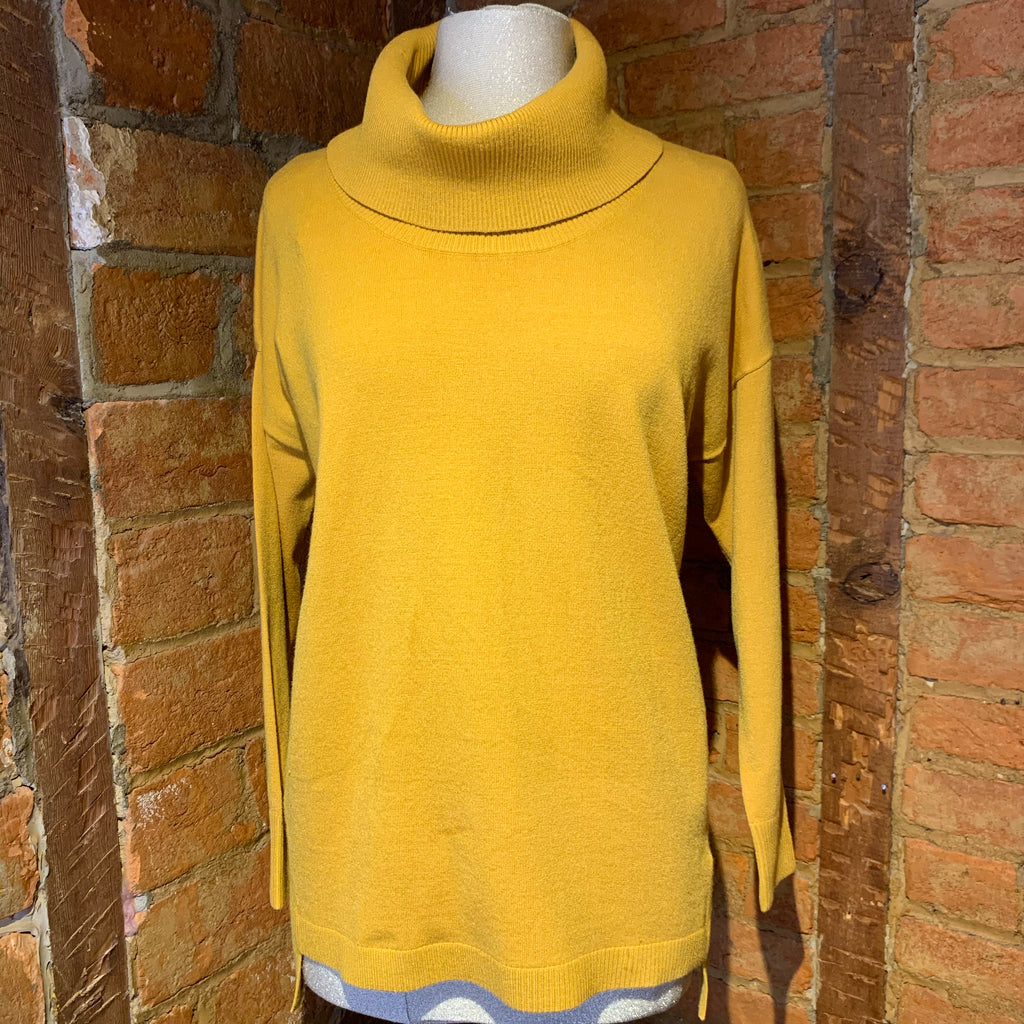 Alison Sheri Amber Cowlneck Sweater