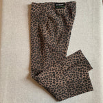 Fit Sight Animal Print Pull On Pant